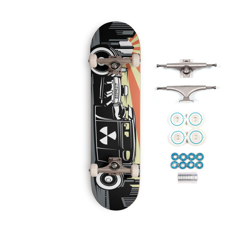 ATOMIC COUPE skateboard deck Accessories Complete - Basic Skateboard by Max Grundy Design's Artist Shop