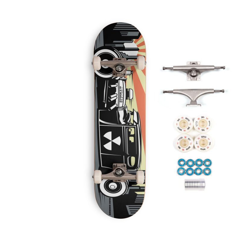 ATOMIC COUPE skateboard deck Accessories Complete - Premium Skateboard by Max Grundy Design's Artist Shop