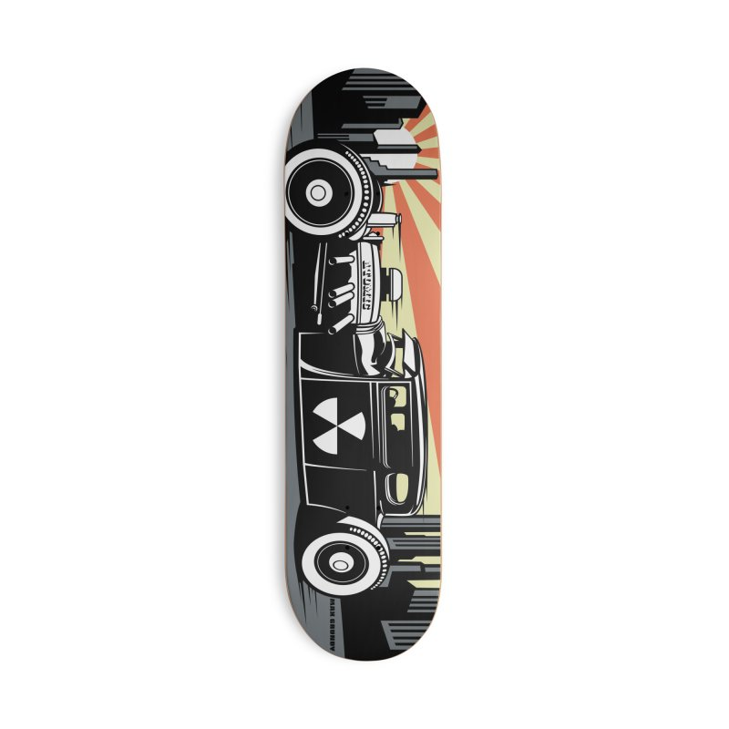 ATOMIC COUPE skateboard deck Accessories Deck Only Skateboard by Max Grundy Design's Artist Shop