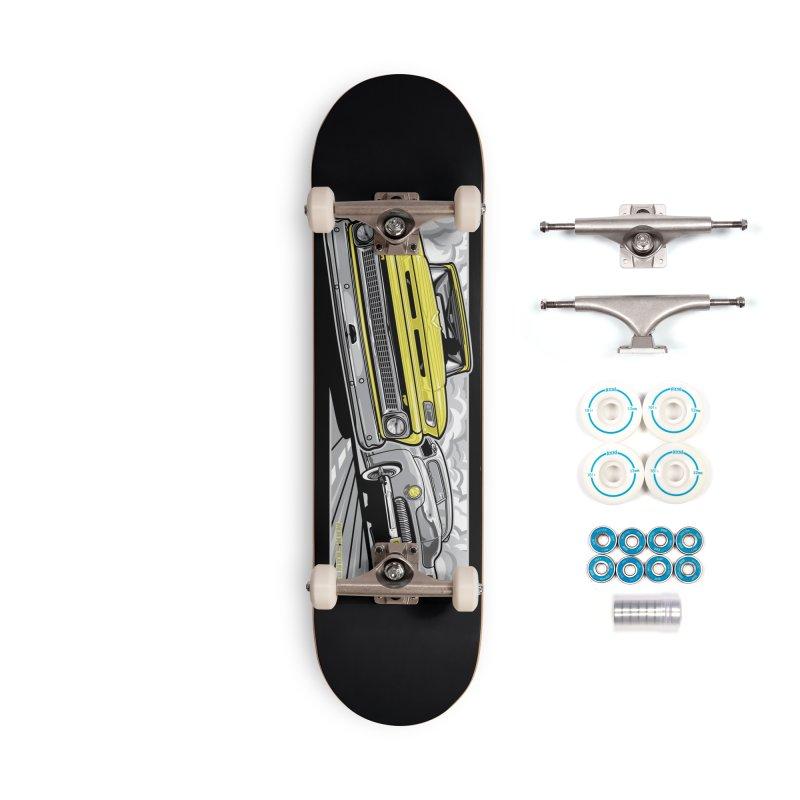 DRIVEN skateboard deck Accessories Complete - Basic Skateboard by Max Grundy Design's Artist Shop
