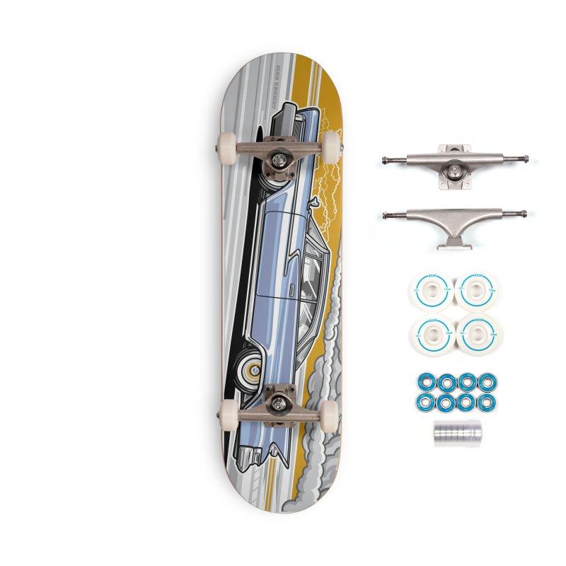 FAST FORWARD skateboard deck Accessories Complete - Basic Skateboard by Max Grundy Design's Artist Shop