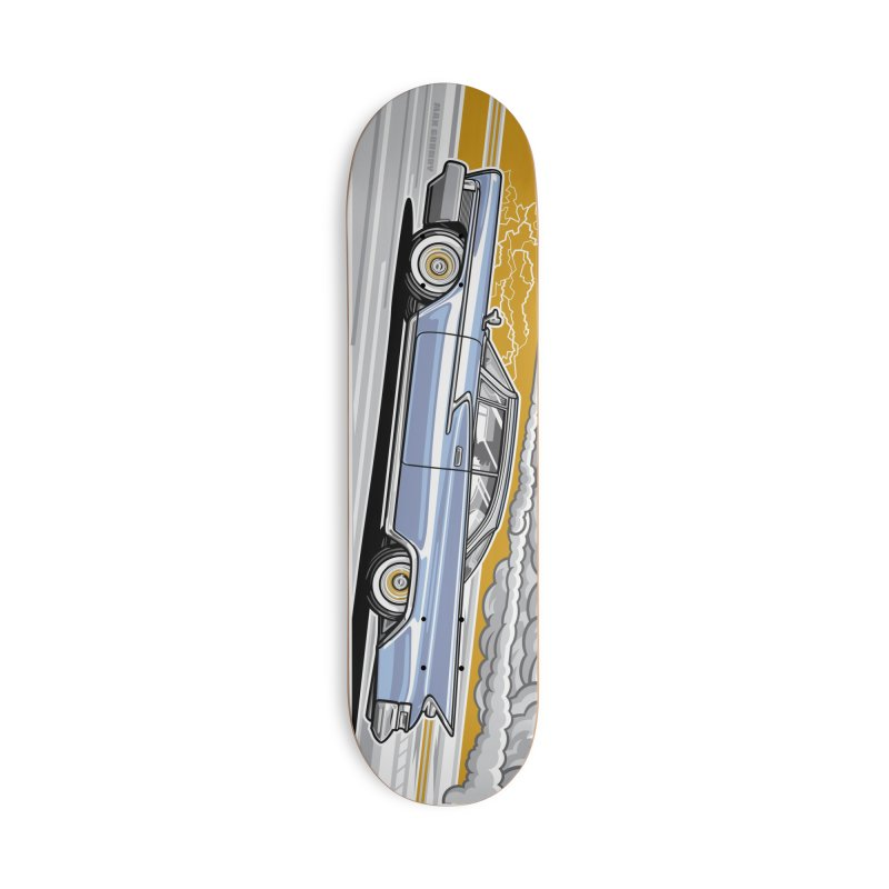 FAST FORWARD skateboard deck Accessories Skateboard by Max Grundy Design's Artist Shop
