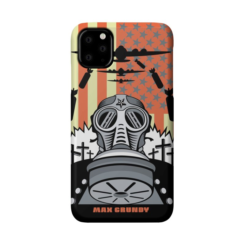 FEAR IS THE NEW BEAUTY cell phone case Accessories Phone Case by Max Grundy Design's Artist Shop