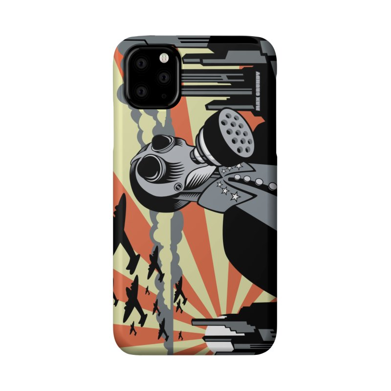 WHEN THE BOMB DROPS cell phone case Accessories Phone Case by Max Grundy Design's Artist Shop