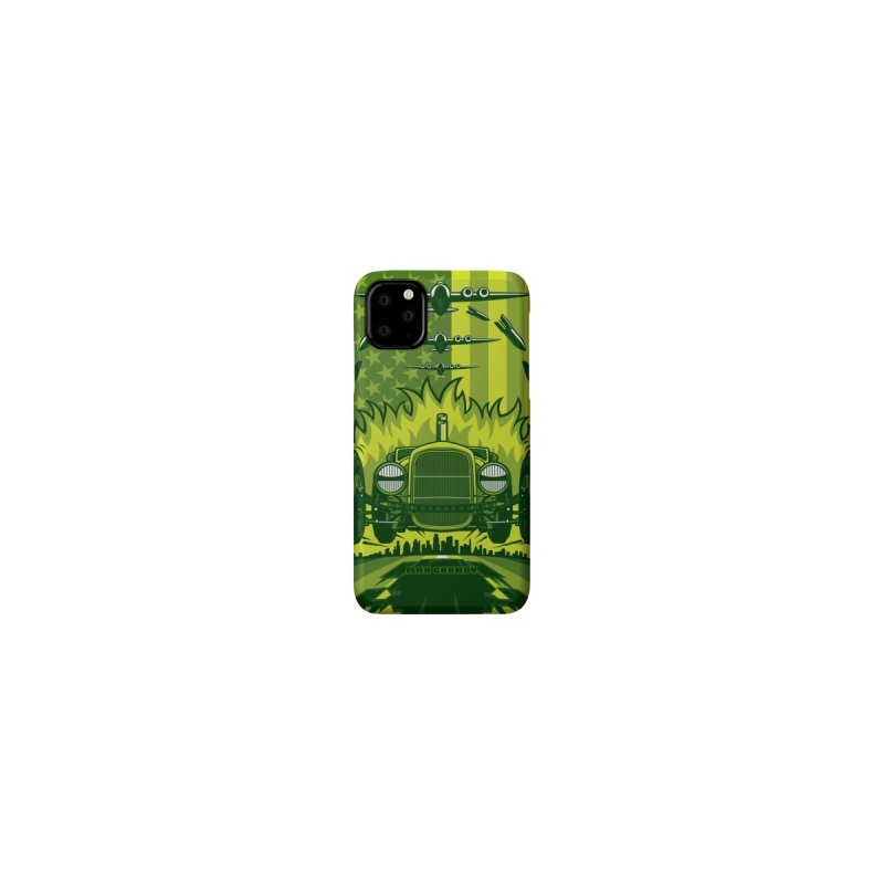 THE GREEN AGENDA (green) cell phone case by Max Grundy Design's Artist Shop