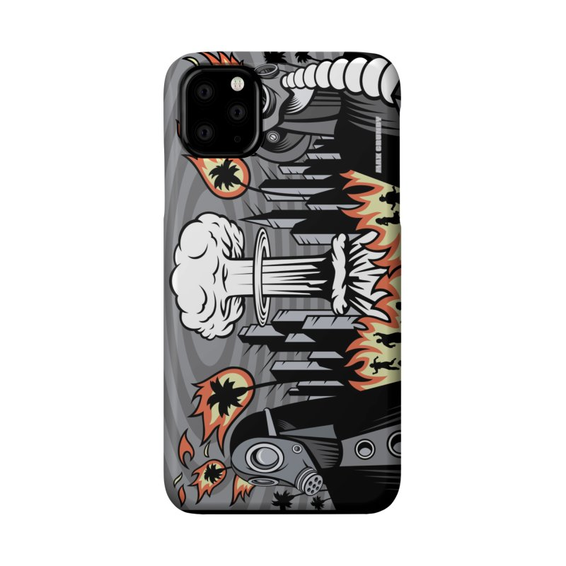 NUCLEOMITUPHOBIA cell phone case Accessories Phone Case by Max Grundy Design's Artist Shop