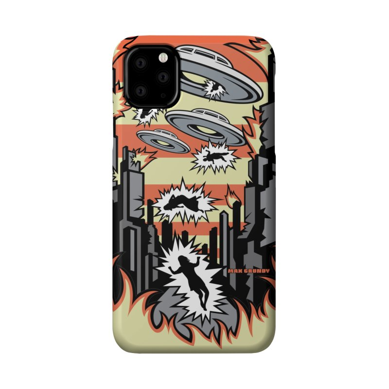 XENOPHOBIA cell phone case Accessories Phone Case by Max Grundy Design's Artist Shop