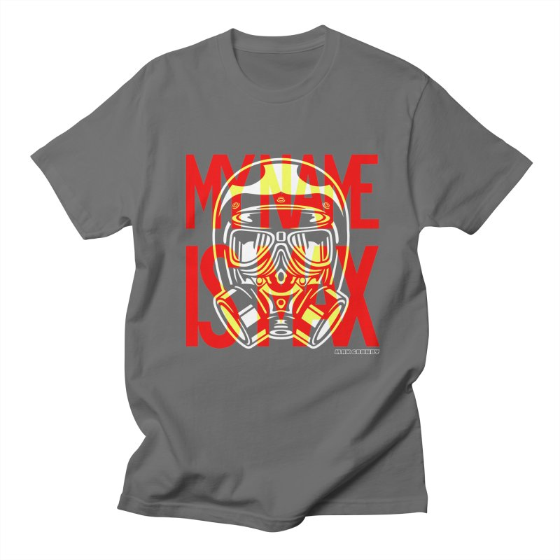 MY NAME IS MAX tee shirt Men's T-Shirt by Max Grundy Design's Artist Shop