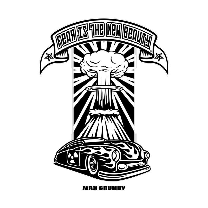 MERCURY FALLOUT t-shirt (men, women, kids) Accessories Greeting Card by Max Grundy Design's Artist Shop