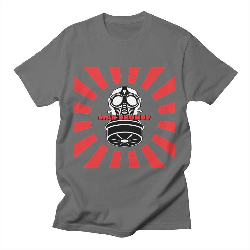 RED BONZAI t-shirt (men, women, kids) Men's T-Shirt by Max Grundy Design's Artist Shop