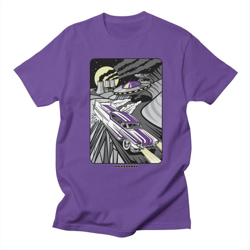 CADILLAC COVER-UP t-shirt (men, women, kids) Men's T-Shirt by Max Grundy Design's Artist Shop