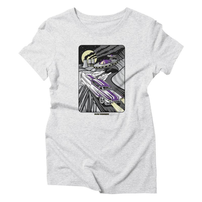 CADILLAC COVER-UP t-shirt (men, women, kids) Women's T-Shirt by Max Grundy Design's Artist Shop