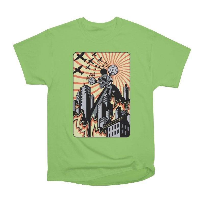 FINKZILLA DESTROYS TOKYO t-shirt (men, women, kids) Men's T-Shirt by Max Grundy Design's Artist Shop