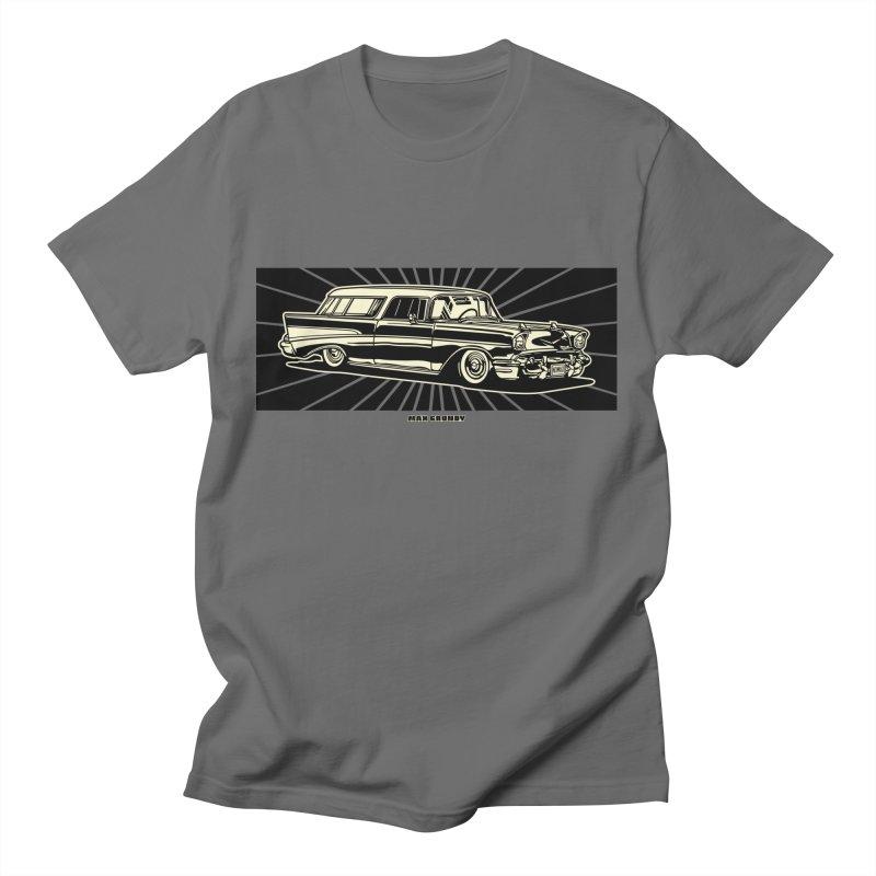 NOMAD t-shirt (men, women, kids) Men's T-Shirt by Max Grundy Design's Artist Shop