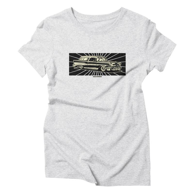 NOMAD t-shirt (men, women, kids) Women's T-Shirt by Max Grundy Design's Artist Shop