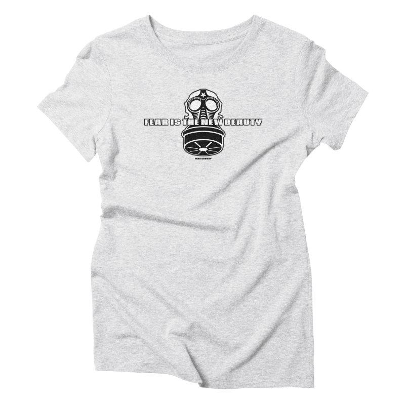 FEAR MASK t-shirt (men, women, kids) Women's T-Shirt by Max Grundy Design's Artist Shop