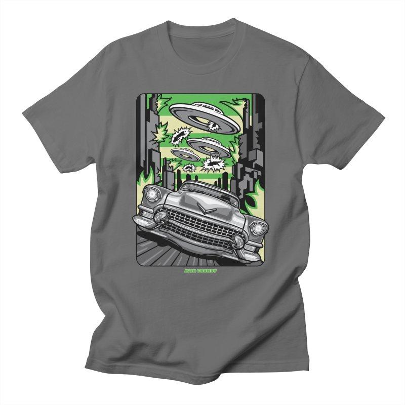 KULTURE SHOCK t-shirt (men, women, kids) Men's T-Shirt by Max Grundy Design's Artist Shop