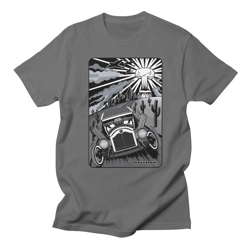 ESCAPE FROM LA original version t-shirt (men, women, kids) Men's T-Shirt by Max Grundy Design's Artist Shop
