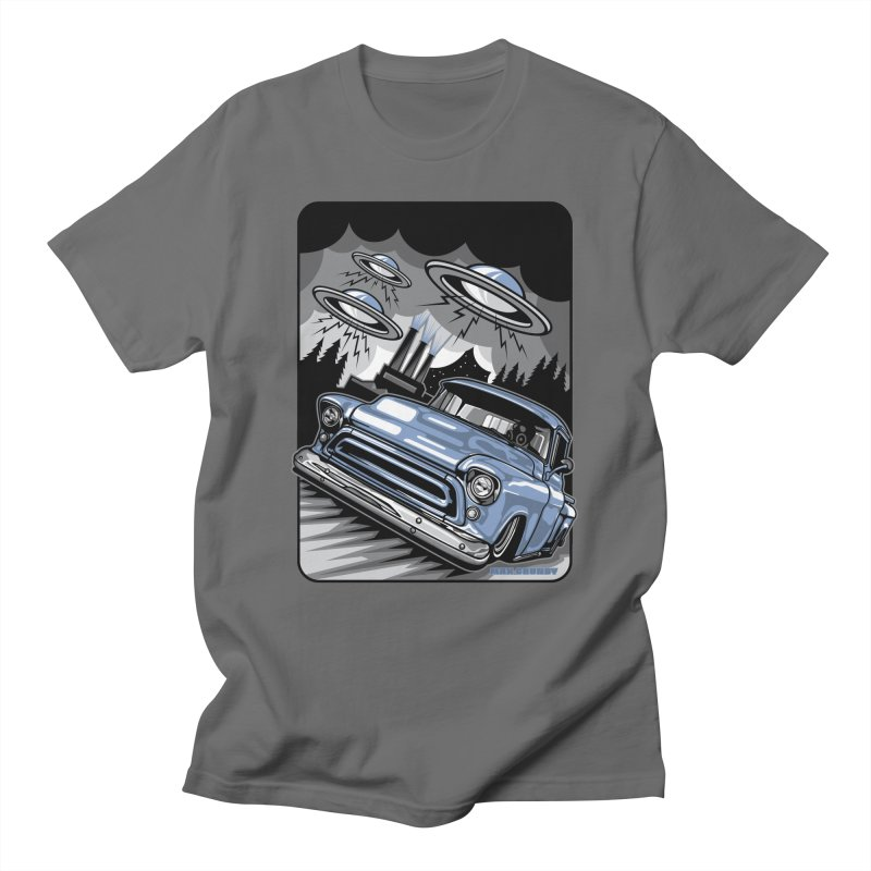 UFO TASK FORCE t-shirt (men, women, kids) Men's T-Shirt by Max Grundy Design's Artist Shop