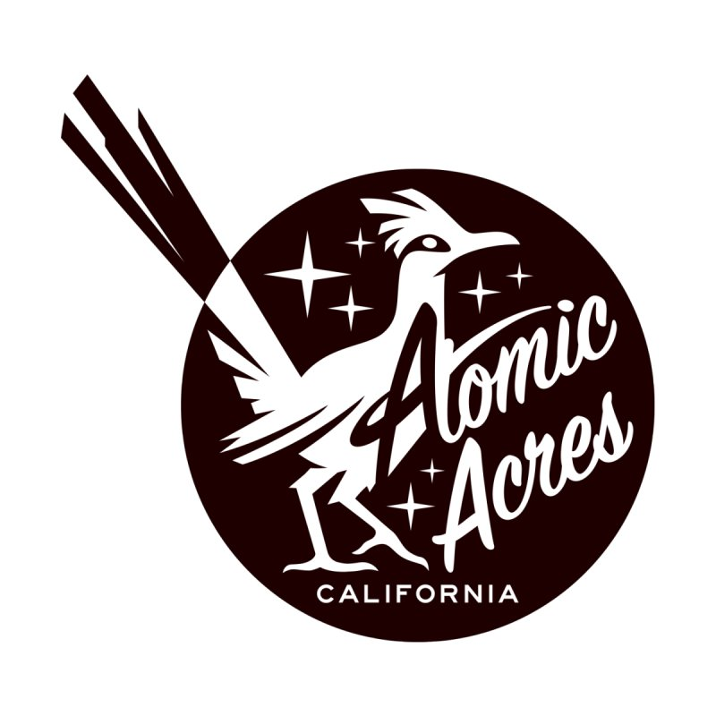 ATOMIC ACRES t-shirts (men, women, kids) Men's T-Shirt by Max Grundy Design's Artist Shop