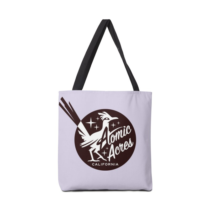 ATOMIC ACRES tote bag (lilac) Accessories Bag by Max Grundy Design's Artist Shop
