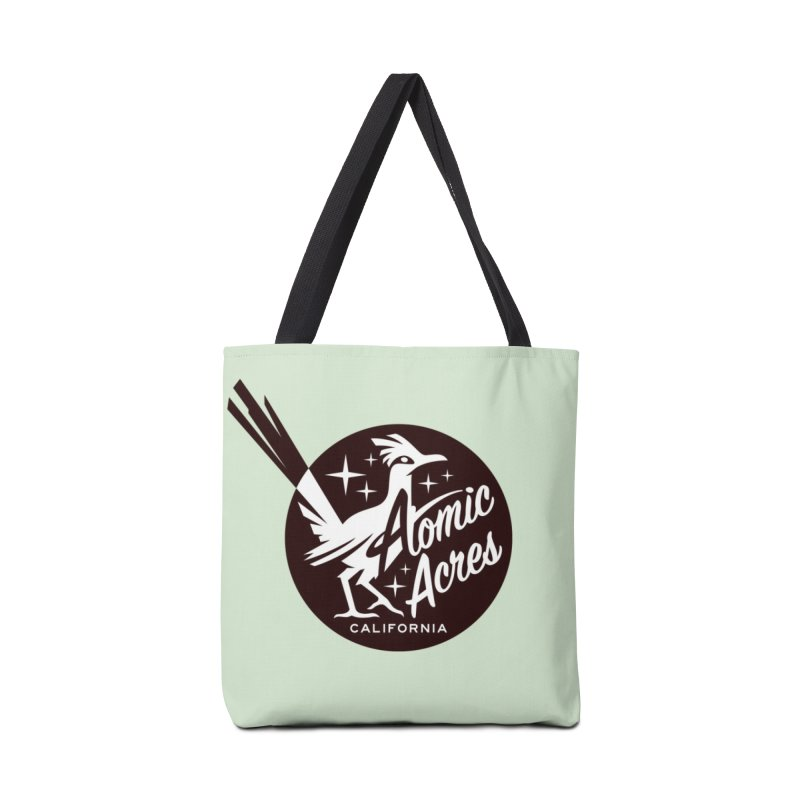 ATOMIC ACRES tote bag (mint) Accessories Bag by Max Grundy Design's Artist Shop