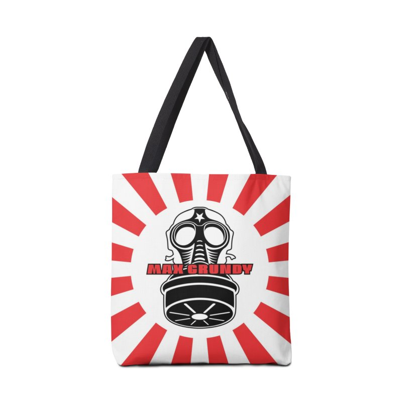 RED BONZAI tote bag Accessories Bag by Max Grundy Design's Artist Shop