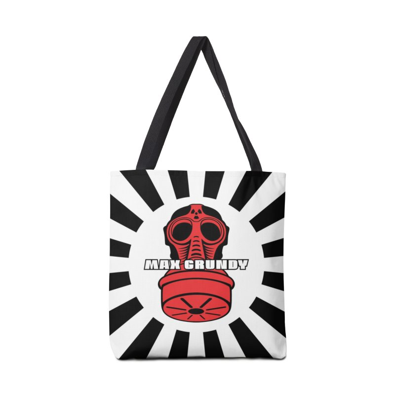 BLACK BONZAI tote bag Accessories Bag by Max Grundy Design's Artist Shop