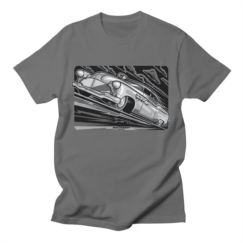 BONNEVILLE BLACKOUT t-shirts (men, women, kids) Men's T-Shirt by Max Grundy Design's Artist Shop