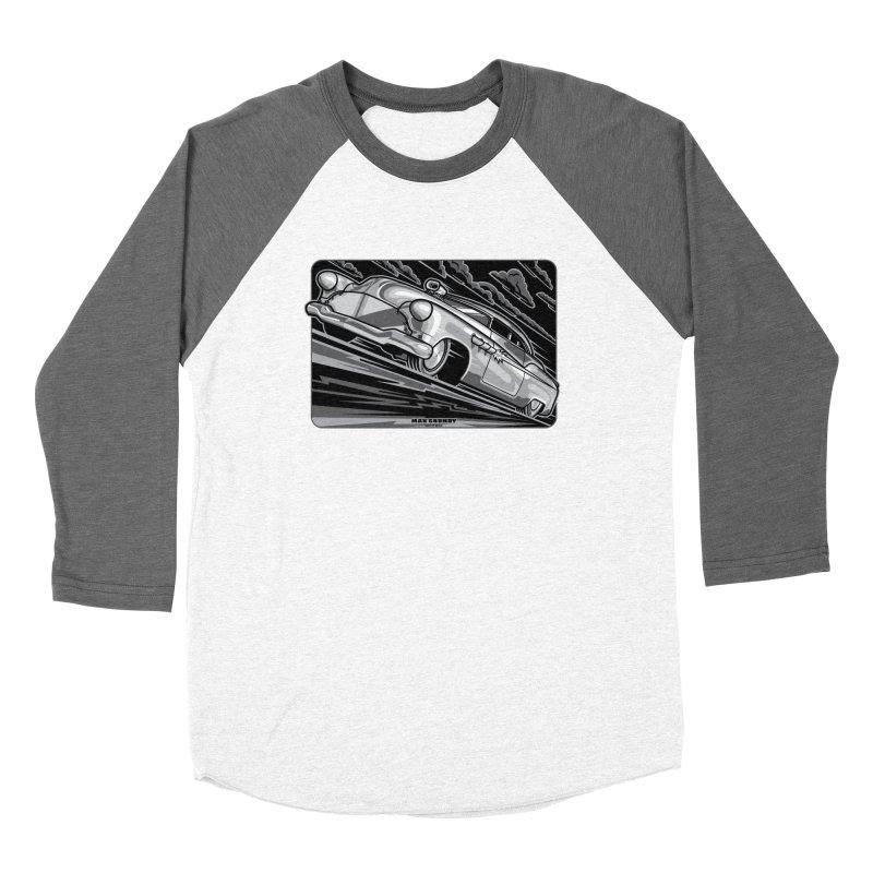 BONNEVILLE BLACKOUT t-shirts (men, women, kids) Women's Longsleeve T-Shirt by Max Grundy Design's Artist Shop