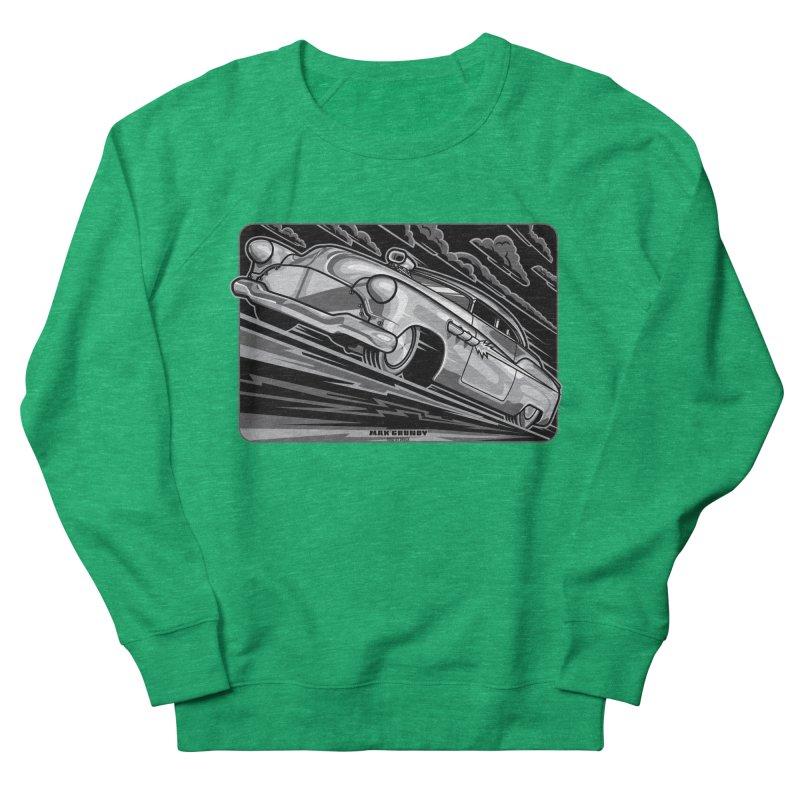 BONNEVILLE BLACKOUT t-shirts (men, women, kids) Women's Sweatshirt by Max Grundy Design's Artist Shop