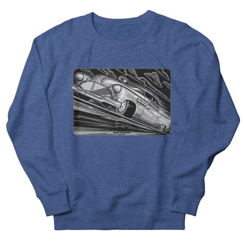 BONNEVILLE BLACKOUT t-shirts (men, women, kids) Men's Sweatshirt by Max Grundy Design's Artist Shop