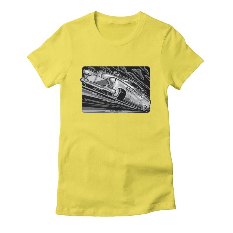 BONNEVILLE BLACKOUT t-shirts (men, women, kids) Women's T-Shirt by Max Grundy Design's Artist Shop