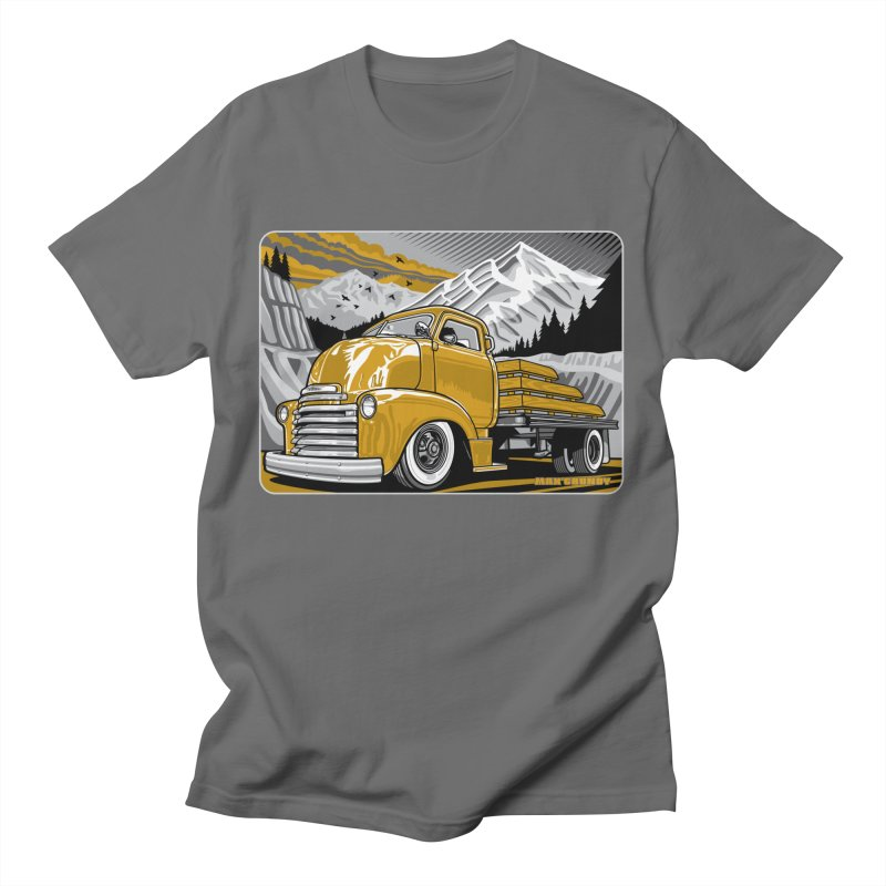 MOUNTAIN HARVEST t-shirt (men, women, kids) Men's T-Shirt by Max Grundy Design's Artist Shop