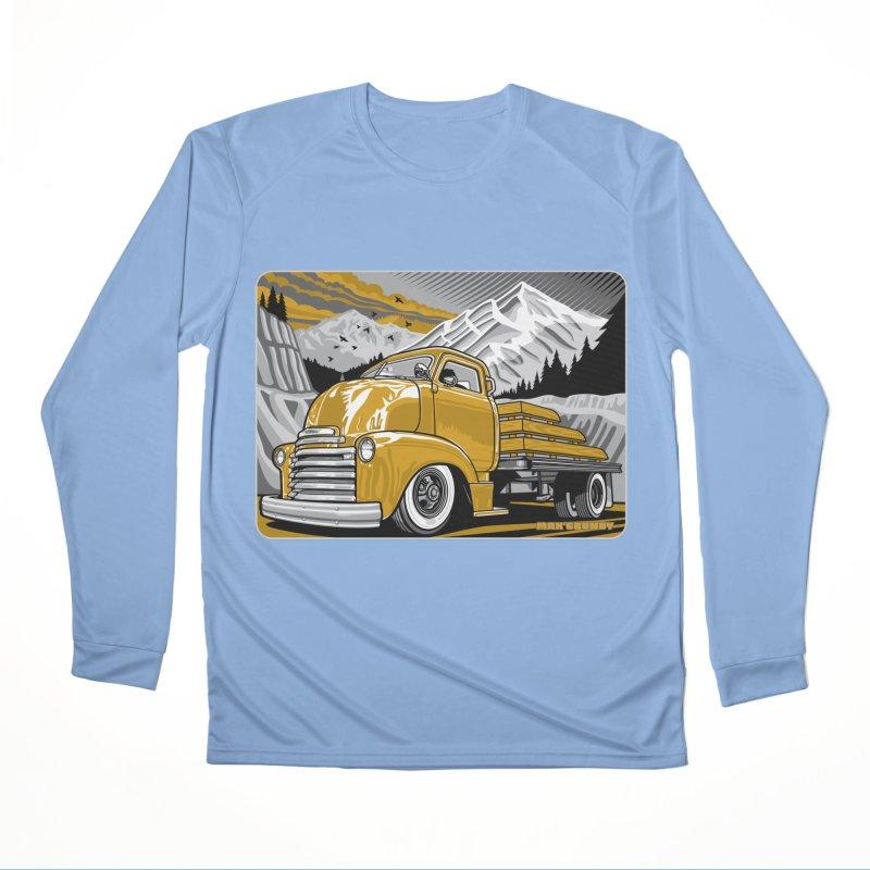 MOUNTAIN HARVEST t-shirt (men, women, kids) Women's Longsleeve T-Shirt by Max Grundy Design's Artist Shop