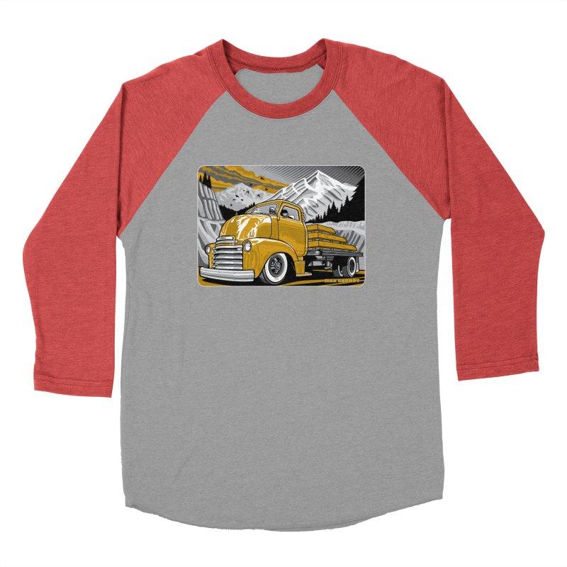 MOUNTAIN HARVEST t-shirt (men, women, kids) Men's Longsleeve T-Shirt by Max Grundy Design's Artist Shop