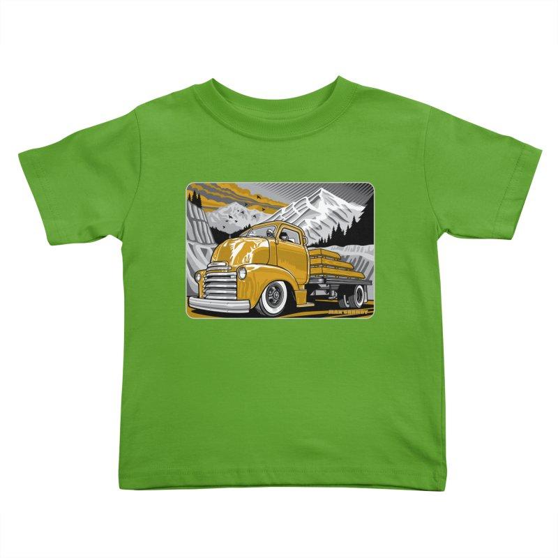 MOUNTAIN HARVEST t-shirt (men, women, kids) Kids Toddler T-Shirt by Max Grundy Design's Artist Shop
