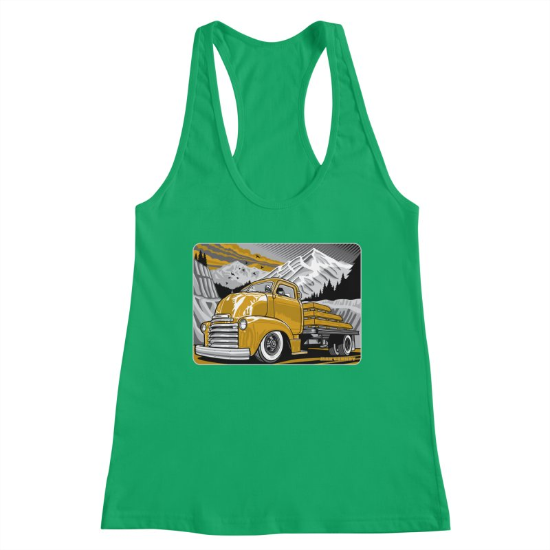MOUNTAIN HARVEST t-shirt (men, women, kids) Women's Tank by Max Grundy Design's Artist Shop