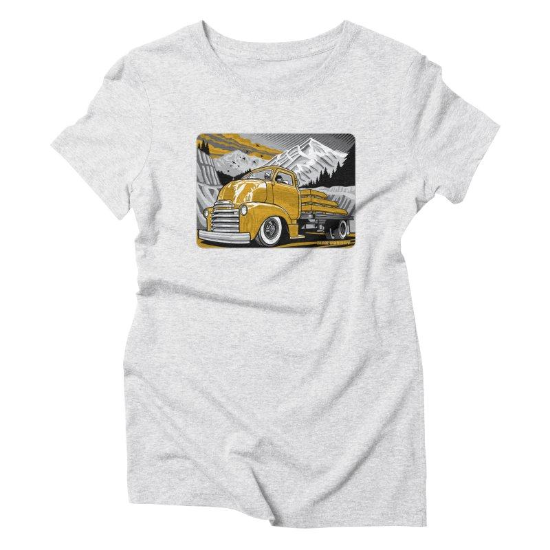 MOUNTAIN HARVEST t-shirt (men, women, kids) Women's T-Shirt by Max Grundy Design's Artist Shop
