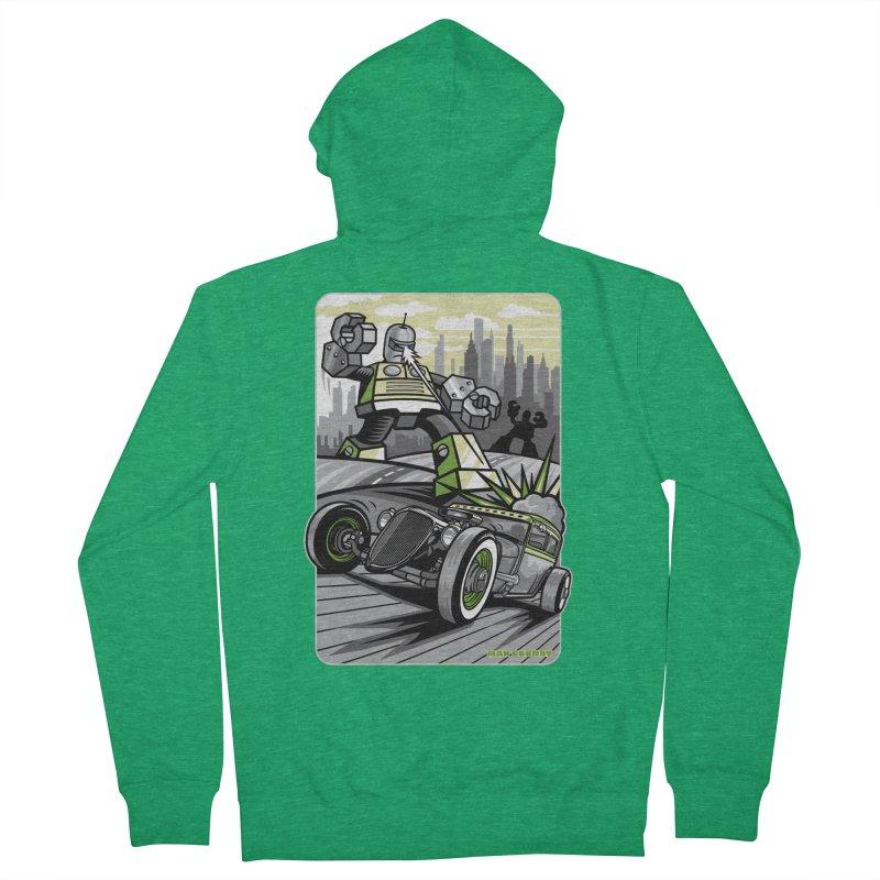 OUT OF ORDER t-shirts (men, women, kids) Men's Zip-Up Hoody by Max Grundy Design's Artist Shop