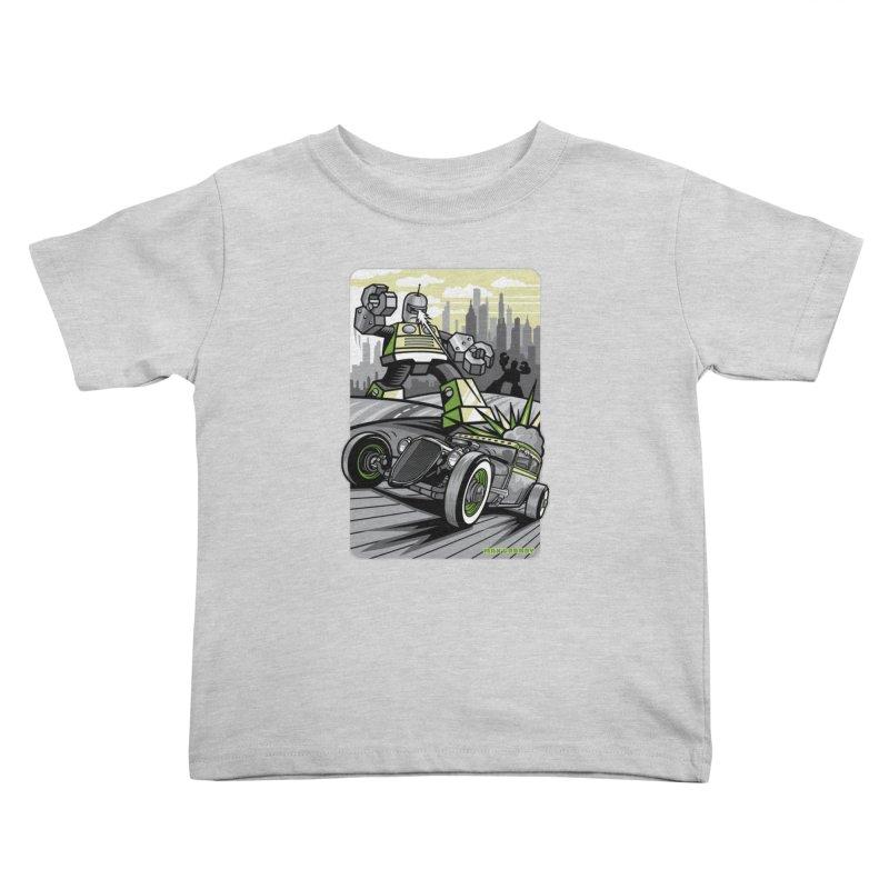 OUT OF ORDER t-shirts (men, women, kids) Kids Toddler T-Shirt by Max Grundy Design's Artist Shop