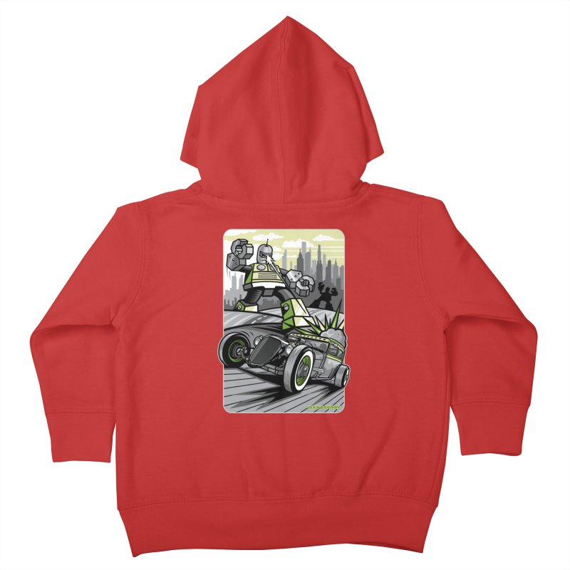 OUT OF ORDER t-shirts (men, women, kids) Kids Toddler Zip-Up Hoody by Max Grundy Design's Artist Shop
