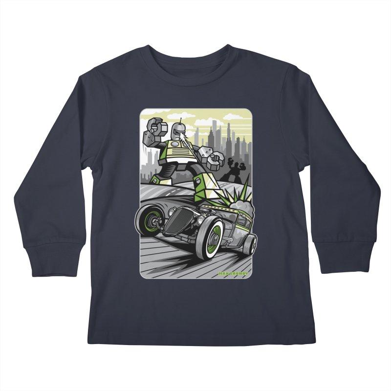 OUT OF ORDER t-shirts (men, women, kids) Kids Longsleeve T-Shirt by Max Grundy Design's Artist Shop