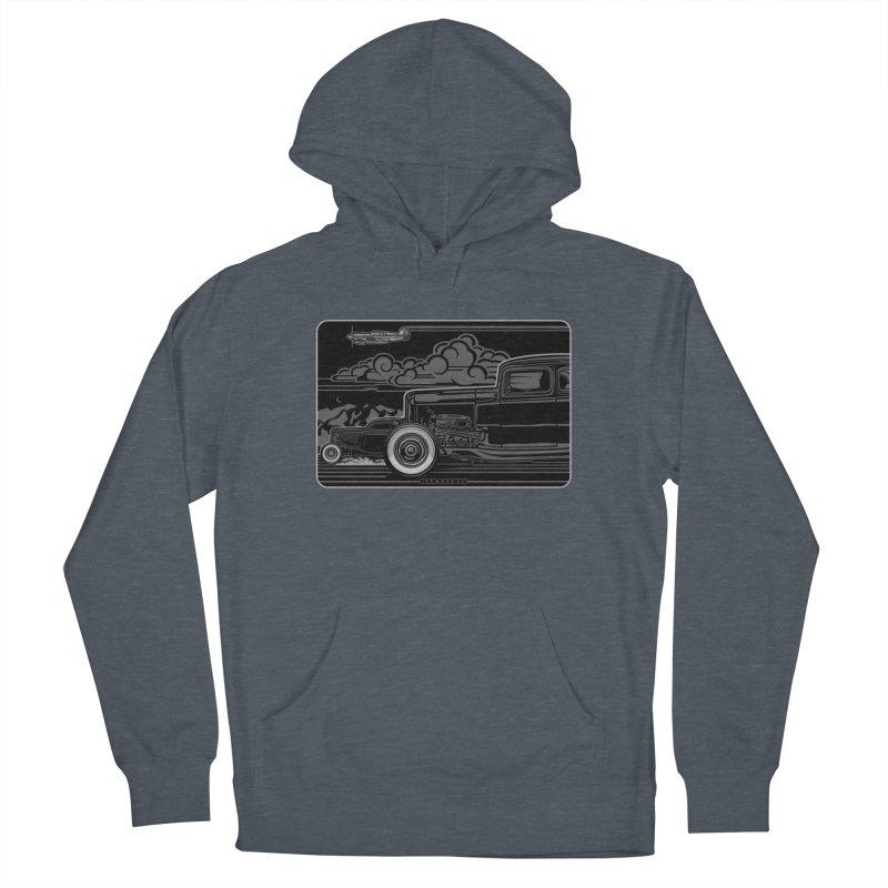 TRI POWER NOIR t-shirt (men, women, kids) Women's Pullover Hoody by Max Grundy Design's Artist Shop