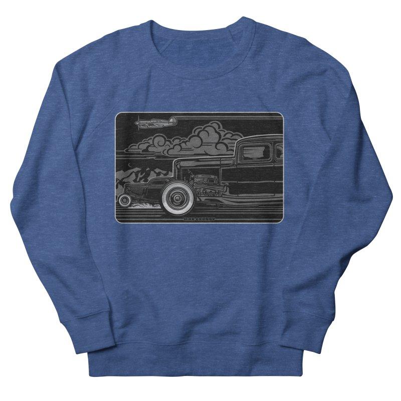 TRI POWER NOIR t-shirt (men, women, kids) Men's Sweatshirt by Max Grundy Design's Artist Shop