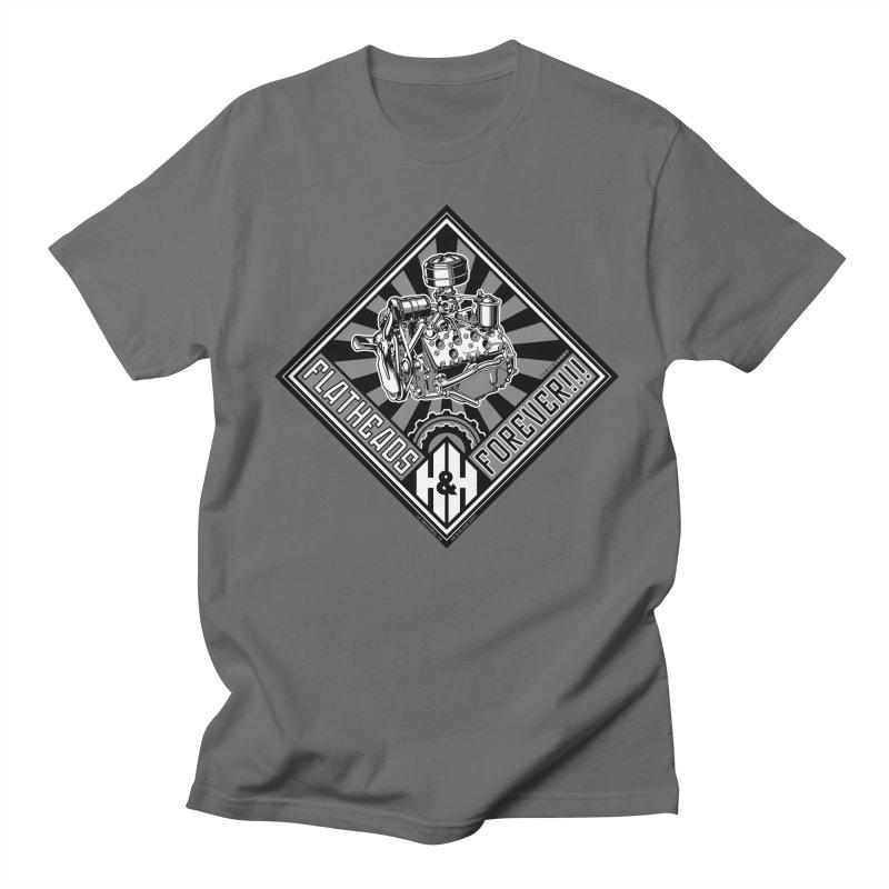 FLATHEADS FOREVER t-shirt (men, women, kids) Men's T-Shirt by Max Grundy Design's Artist Shop