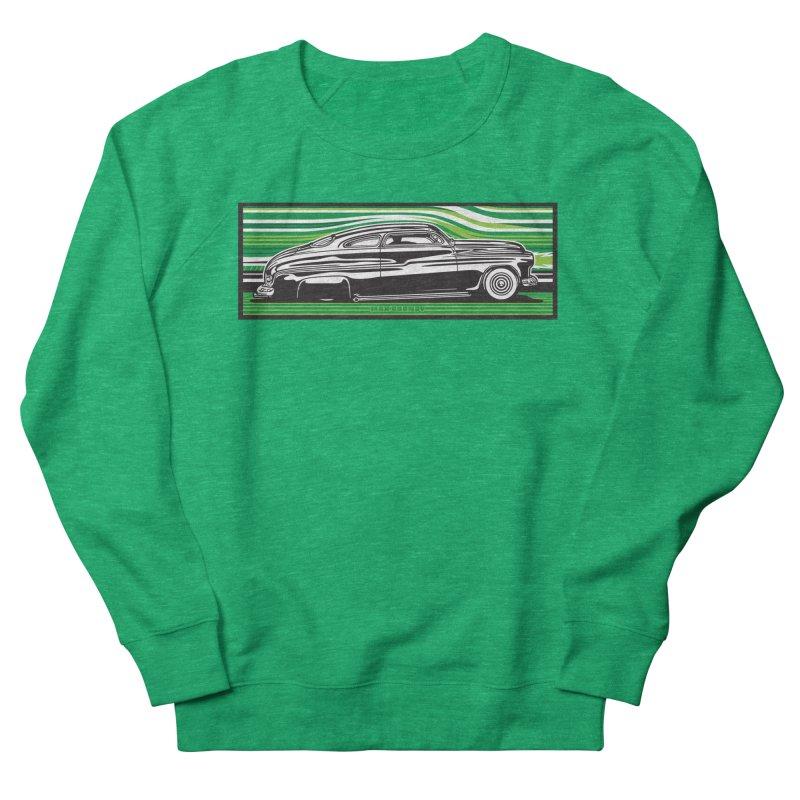 GREEN STREAMLINE 50 t-shirt (men, women, kids) Women's Sweatshirt by Max Grundy Design's Artist Shop