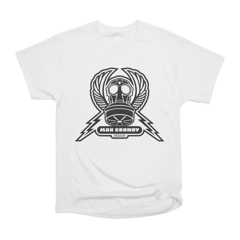 GAS MASK CREST t-shirt (men, women, kids) Women's T-Shirt by Max Grundy Design's Artist Shop