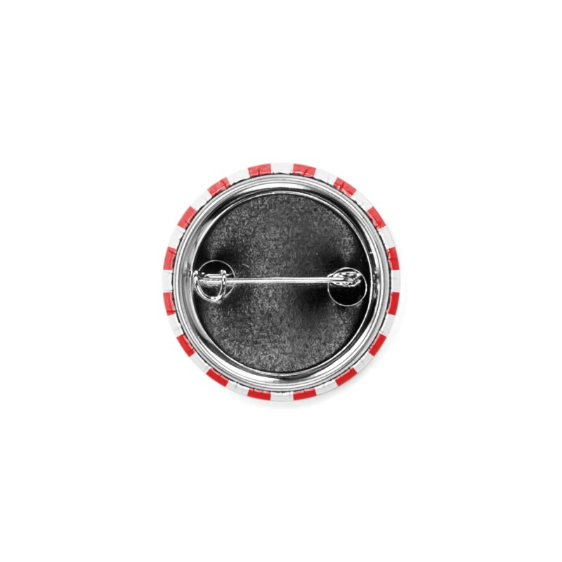 RED BONZAI button Accessories Button by Max Grundy Design's Artist Shop