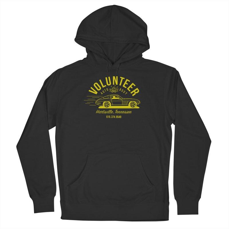 VOLUNTEER AUTO BODY t-shirt (men, women, kids) Women's Pullover Hoody by Max Grundy Design's Artist Shop